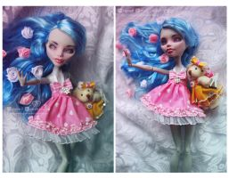 Dead Tired Ghoulia repaint by MyobiMarishka