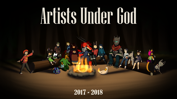 A Year of Artists Under God by FalloutFoxDraws