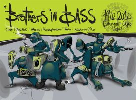 Brothers in Bass by Unoe1