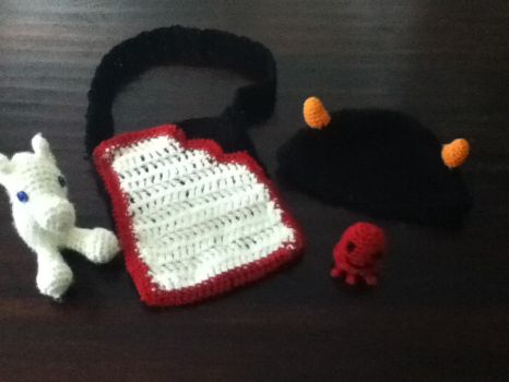 Crochet Homestuck Stuff by bunnirox413