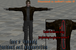 Leon Degeneration Mod (available for download) by xXLife-Starts-NowXx