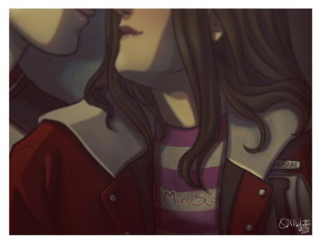 Faberry Cheerios Jacket by patronustrip