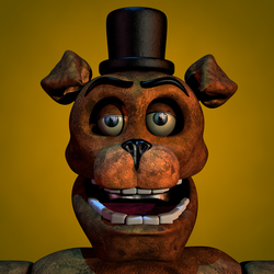 Stylised Withered Freddy by Popi01234