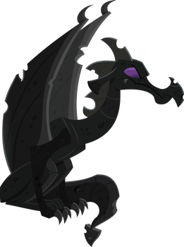 Dragon gargoyle by BlueThunder66