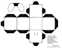 Cube Cubee Blank Template by Shyguy20