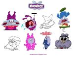 Chowder expressions by Serapio