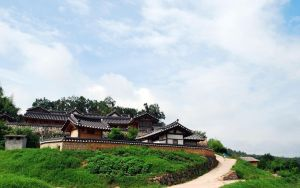 Korean Traditional House by cgh30217