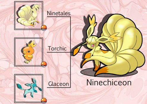 PokeFusion: Ninechiceon by JT-PokeKa