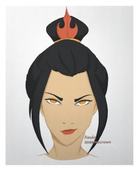 Azula by queenwcrown