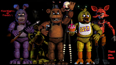 Fnaf: Thank you Scott... by DrumboProductions