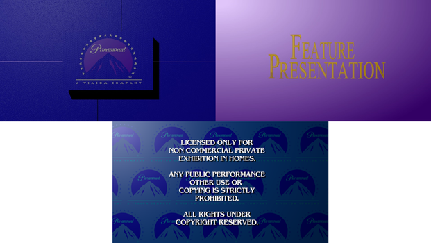 Paramount Feature Presentation Remake by LogomaxProductions