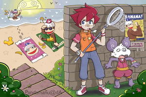 Ape Escape 2 by PandaManu