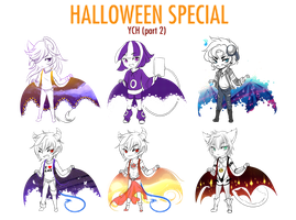 YCH - Halloween special part 2 by Yokufo