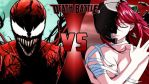 Carnage vs. Lucy by OmnicidalClown1992