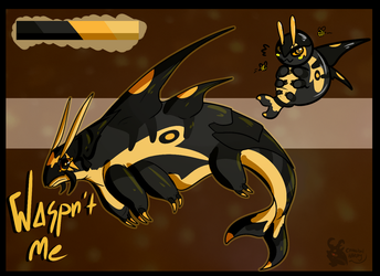 Waspn't Me Orcabeast Adopt by CannibalHarpy