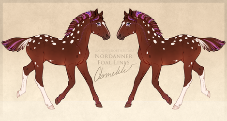 A6055 Foal Design by TheBlackAlicorn