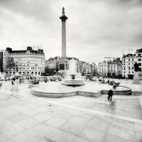 London: Trafalgar Square by xMEGALOPOLISx