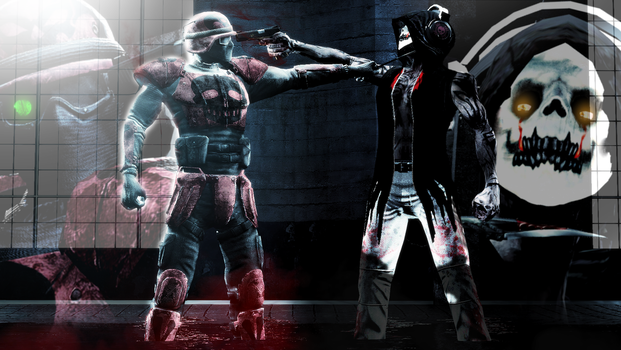 [Crossover] The Reaper Vs The Anarchist by WitchyGmod