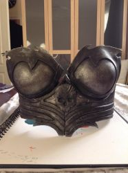 Finished worbla breastplate by charlotte759