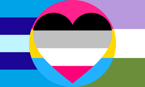 Transmasculine Genderqueer Pan- Fem- Combo by Pride-Flags