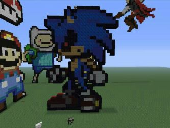 Sonic.exe minecraft edition by xDREAM-EATERx