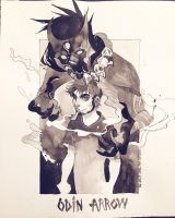 AX'15 ink commission for imactuallyayam by HJeojeo