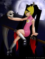 Mandy and Grim by Dire-Lie