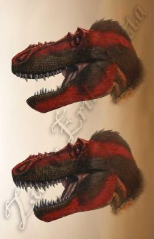 Peck's Rex (Lipped vs Unlipped) by amorousdino