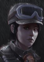 Jyn Erso by arxers