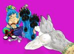 AT :- Lucky Wolfz by darkbeliever95