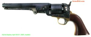 Model 1851 Colt Navy revolver by captaincabbage