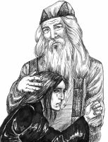 Dumbledore the Protector by Atanapotnia
