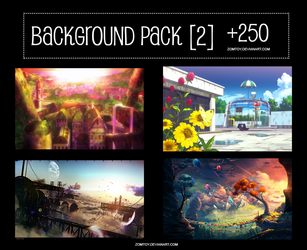 Background Pack [2] +250Backgrounds by ZomToy