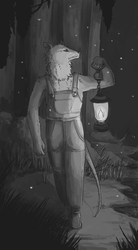 The Hermit by Drkchaos