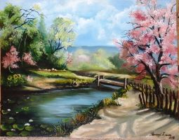 Lights of spring by Laurael