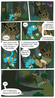 Mission 8: Page 4 (Present) by doodlesANDkyn