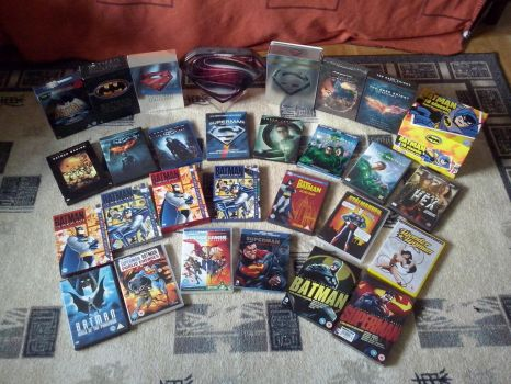 DC Movie Collection by Elden-rucidor