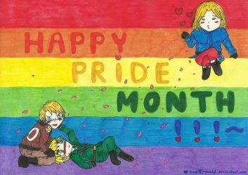 aph: Happy Pride Month! by LoveEmerald