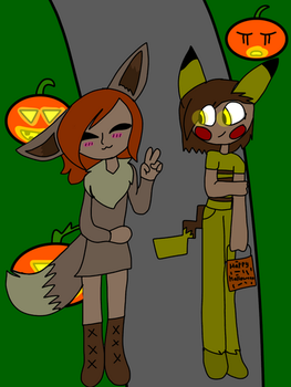 Happy Halloween John and Octavia by Taushap