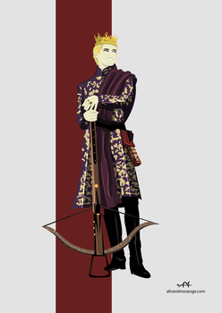 Joffrey Baratheon (GoT) by FeydRautha81