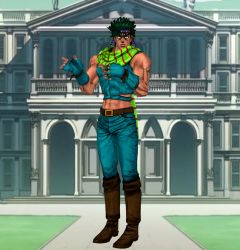 JJBA Joseph Joestar (XNALara model) by chutesto12new