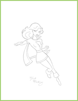 Timm Style Mary Marvel by Digital-Jedi
