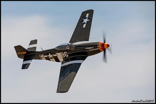 Speedball Alice P-51 Mustang by AirshowDave
