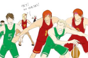 HP - Basketball by uppuN