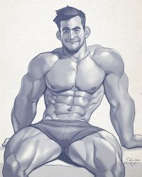 Hunk of the week #28 by silverjow