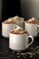 Chocolate mousse by Ninusen