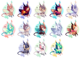 [CLOSED] Lepitsune Batch! by jaywalkings