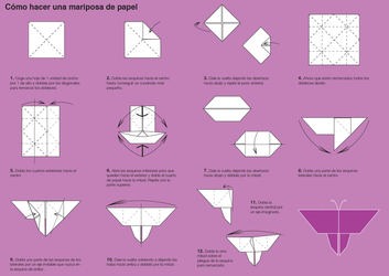 How to Make an Origami Butterfly by Lydilena