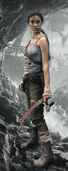 Photo Manipulation: Lara Croft Reborn by alineshenon