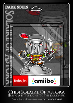 Solaire Of Astora Amiibo by debureturns